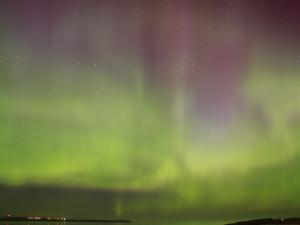 Aurora over Broad Bay